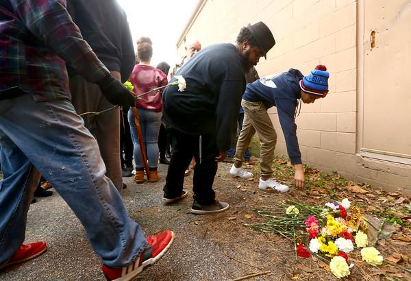 Vigil for LeMarcus McGraw