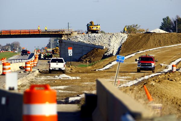 Construction at US31 and SR28