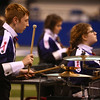 Northwestern High School performs in Class D of the State Marching Band Finals at Lucas Oil Stadium on Saturday, October 29, 2016. The Tigers placed eighth.<br /> Kelly Lafferty Gerber | Kokomo Tribune