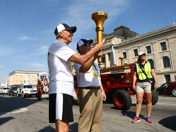 Miami County Bicentennial torch relay