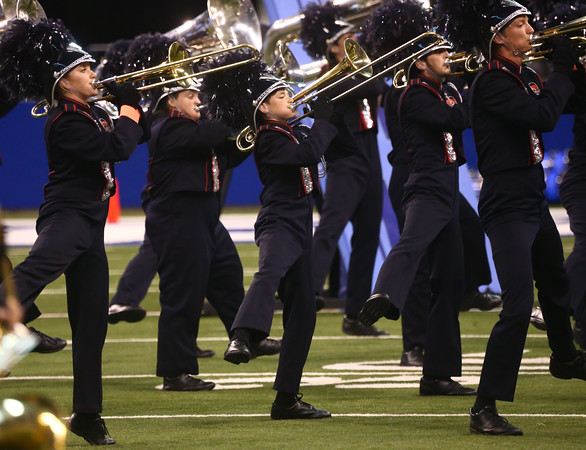 Lewis Cass performs in Class C during the State Marching Band Finals at Lucas Oil Stadium on Saturday, October 29, 2016. The Kings received fourth place.<br /> Kelly Lafferty Gerber   Kokomo Tribune