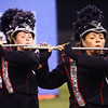 Malloreigh Clippard plays the flute as she performs with the Lewis Cass Kings in Class C during the State Marching Band Finals at Lucas Oil Stadium on Saturday, October 29, 2016. The Kings received fourth place.<br /> Kelly Lafferty Gerber | Kokomo Tribune