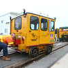 Railroad motorcar trip