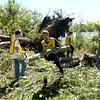 Kokomo Reservoir tornado cleanup