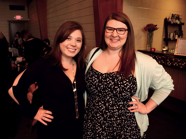 Christa Myers and Bridgette Zollner at the Little Black Dress event.