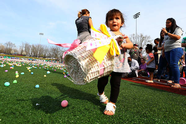 Egg Drop at Stadium