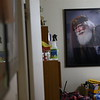 An award-winning portrait taken of Santa Bill Roe hangs in his Kokomo home.<br /> Kelly Lafferty Gerber | Kokomo Tribune