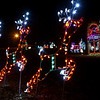 Highland Park Christmas lights on December 12, 2017.<br /> Kelly Lafferty Gerber | Kokomo Tribune