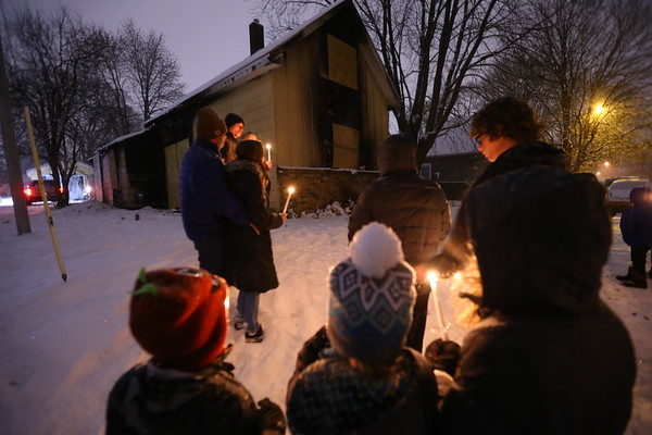 Vigil for Fire Victims