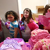 Taylor Elementary students look through gifts donated by the Indiana Pacers at Taylor Elementary on Tuesday, December 19, 2017.<br /> Kelly Lafferty Gerber | Kokomo Tribune