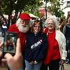 Bill and Janice Roe often get stopped by kids and adults, like when they walked around downtown Kokomo during First Friday in September.<br /> Kelly Lafferty Gerber | Kokomo Tribune