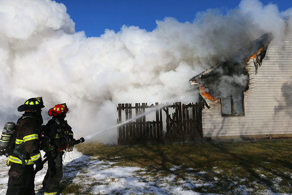 Almquist House Fire