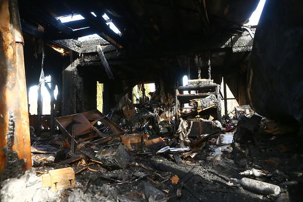 Peru fire aftermath