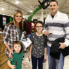 Ashley and Eli Arnold, both left, and Hadlie and John-Michael Cipriano at the Wild Indiana Outdoor Expo on January 14, 2017.<br /> Kelly Lafferty Gerber | Kokomo Tribune