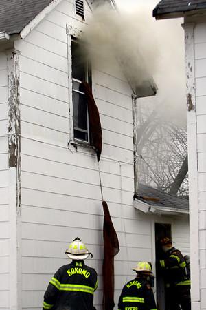 Fire on Union St