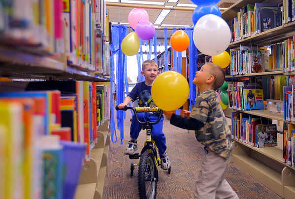 Library Race