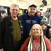Bruce and Vicki Doke with their son Mark Doke and their grandson Cody Doke at the Wild Indiana Outdoor Expo on January 14, 2017.<br /> Kelly Lafferty Gerber | Kokomo Tribune