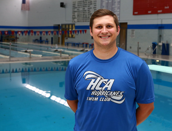 7-25-17<br /> Chris Etherington is the new new Howard County Aquatics coach.<br /> Kelly Lafferty Gerber | Kokomo Tribune