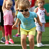 7-1-17<br /> Haynes Apperson Sports<br /> 3-year-old Emma Haynes prepares for the long jump.<br /> Kelly Lafferty Gerber   Kokomo Tribune