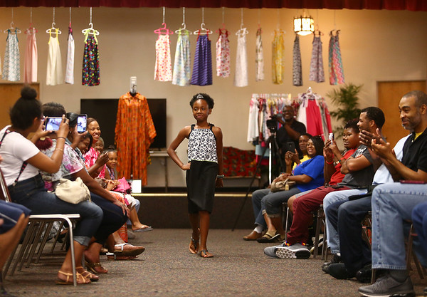 Church fashion show