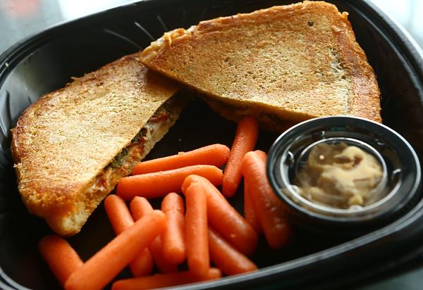 Main Street Cafe's grilled cheese.<br /> Kelly Lafferty Gerber | Kokomo Tribune