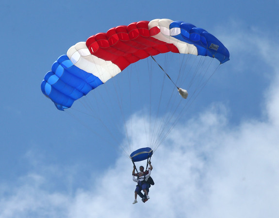 Ruth Blair skydive