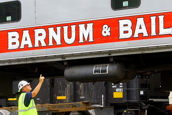 Circus Train Car