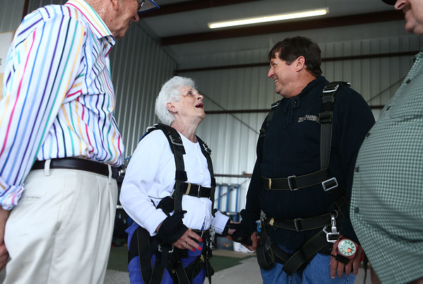 Ruth Blair skydive