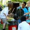 Drums at Park Band
