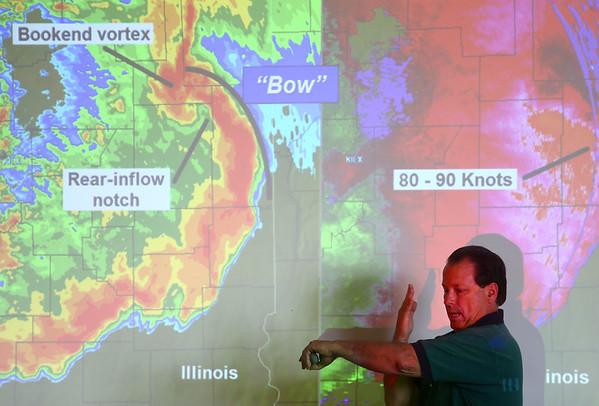 Skywarn severe-weather spotters class