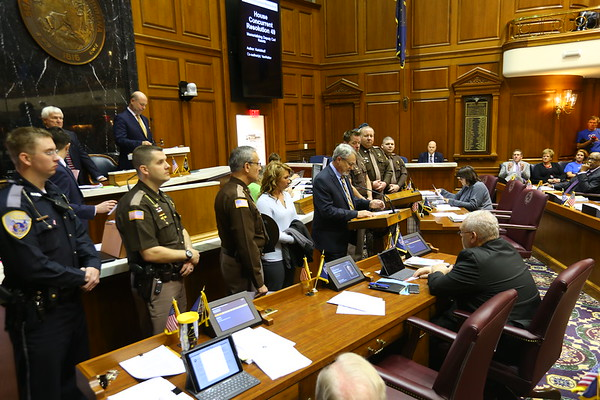 Koontz honored at Statehouse