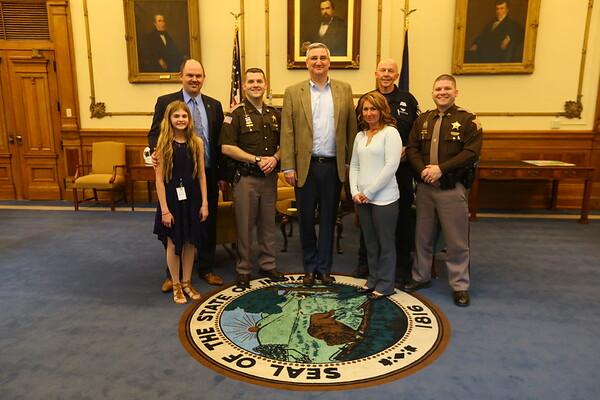 Koontz honored at Statehouse