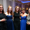 Lisa Leonard, Emily Glover, Lindsay Stevenson, Stacey Million, Mirra Weir at the Cheer Guild ball.