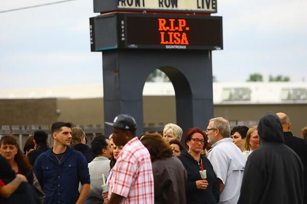 Vigil for Lisa