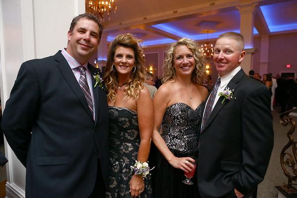 Greg and Chantel Sullivan and Tonya and Brent Newhouse at the Cheer Guild ball.
