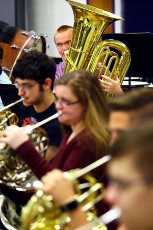 Northwestern Band Practice