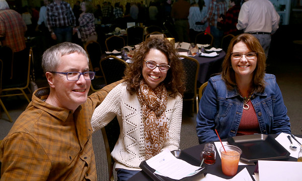 Bud and Kate DeCleene, and Lisa Girton at the Chef's Bash.