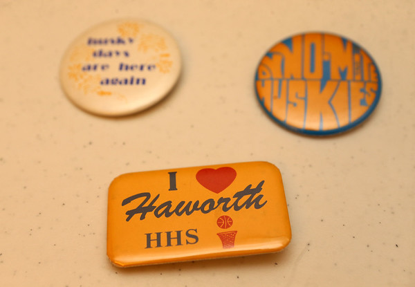 Haworth High School memorabilia