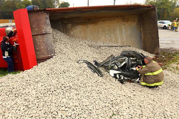 Dump Truck Accident