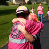 KPD Capt. Teresa Galloway hugs a Pink Heals Tour volunteer on Sunday, September 10, 2017. The organization, which helps people, particularly women, who are battling cancer, stopped in Howard County as part of its national tour.<br /> Kelly Lafferty Gerber | Kokomo Tribune