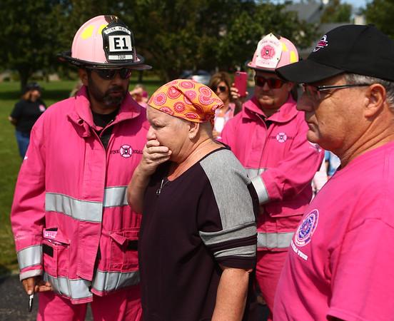 Pink Heals Tour on Sunday, September 10, 2017.<br /> Kelly Lafferty Gerber   Kokomo Tribune