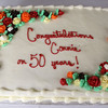 Connie's 50th work anniversary