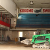 The pool at the old YMCA gets filled in on April 17, 2018.<br /> Kelly Lafferty Gerber | Kokomo Tribune