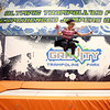 Asia Newby, 8, jumps at Gravity Trampoline Park on its opening day in Markland Mall on Friday, April 20, 2018.<br /> Kelly Lafferty Gerber | Kokomo Tribune