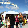 Vendors and shoppers bundled up for a chilly and windy Farmers Market opening day on Saturday, April 28, 2018.<br /> Kelly Lafferty Gerber | Kokomo Tribune