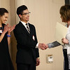 Jonathon Ying, center, shakes hands after winning the Performance Arts scholarship during the Kokomo Tribune Youth to Watch scholarship program on April 18, 2018.<br /> Kelly Lafferty Gerber | Kokomo Tribune