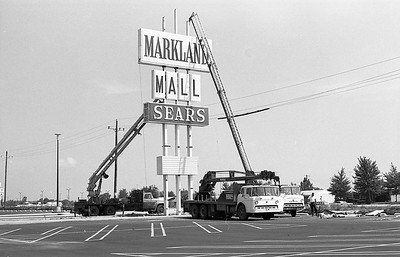 Markland Mall Sign