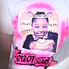 A shirt worn by Renay Jenkins' oldest sister Antrinique Simmons during Renay's funeral and burial on Saturday, August 18, 2018.<br /> Kelly Lafferty Gerber | Kokomo Tribune