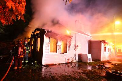 Preble House Fire