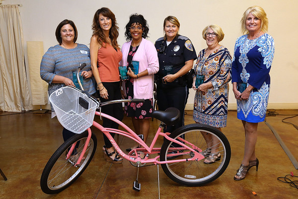 Heartland's Woman in Business luncheon on Aug. 23, 2018. Featured women are Ashley Wyrick, Lindsay Pyle, Kimberly Morris, Tonda Cockrell, Vicki Byrd and Diana Tenbrook.<br /> Tim Bath | Kokomo Tribune